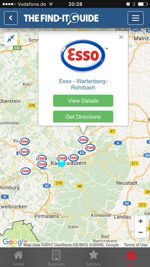 Finding The Closest Esso Gas Station Just Got A Lot Easier