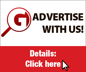 300 x 250 pixel advertisement example on FindItGuide.com