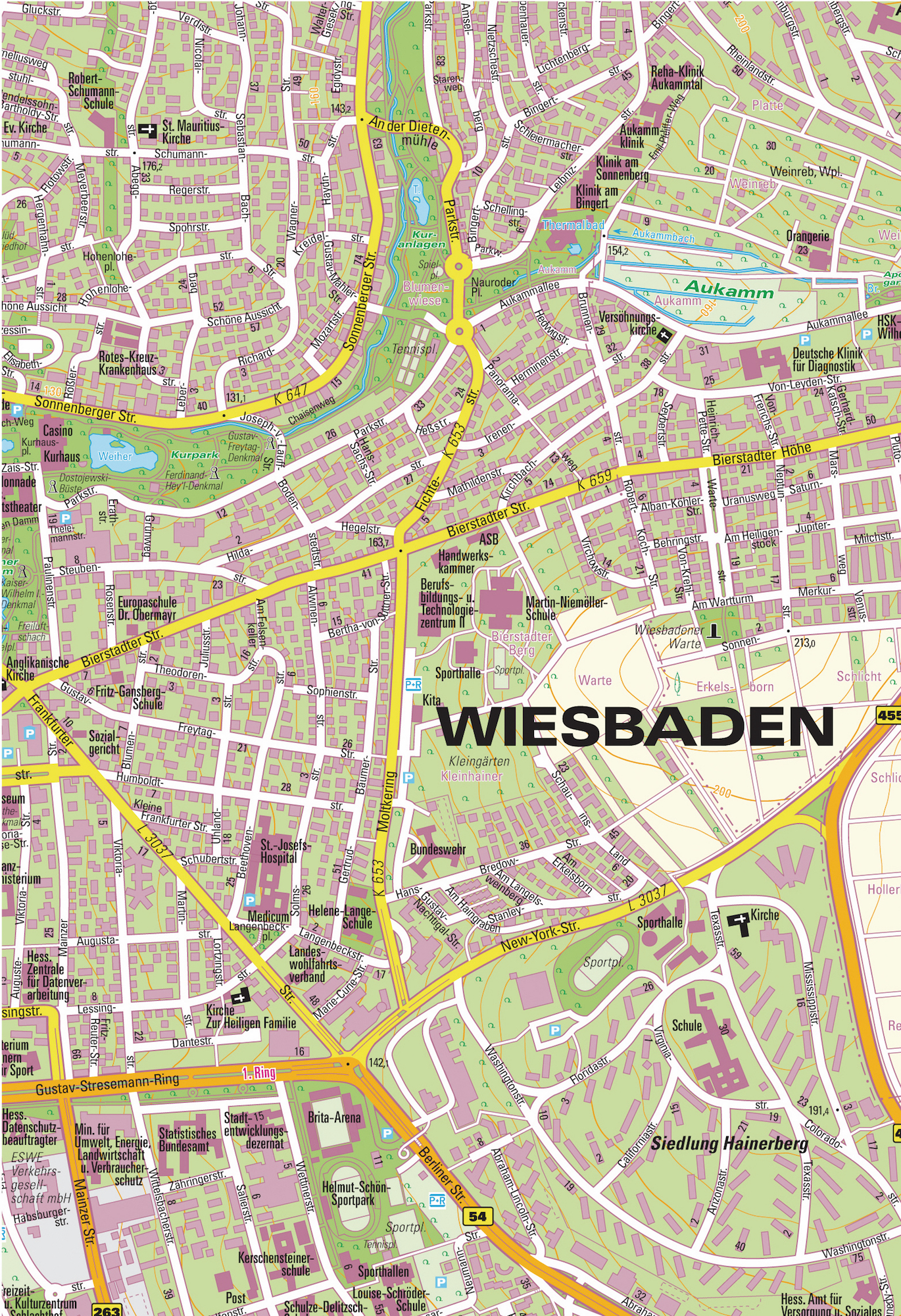 Map Of Germany Ramstein.City And Regional Maps The Find It Guide Business And Military
