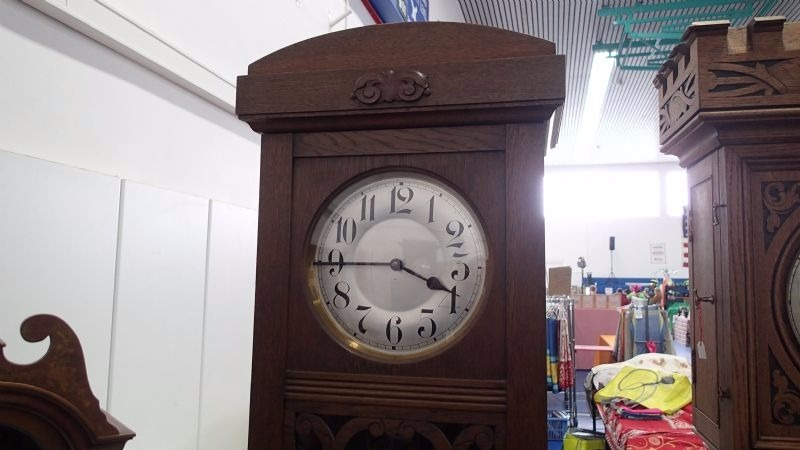 German Junghans Grandfather Clock 1920 S Product
