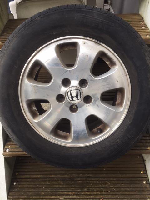 honda odyssey summer tires 2 sets of 2 on oem rims 80. Black Bedroom Furniture Sets. Home Design Ideas