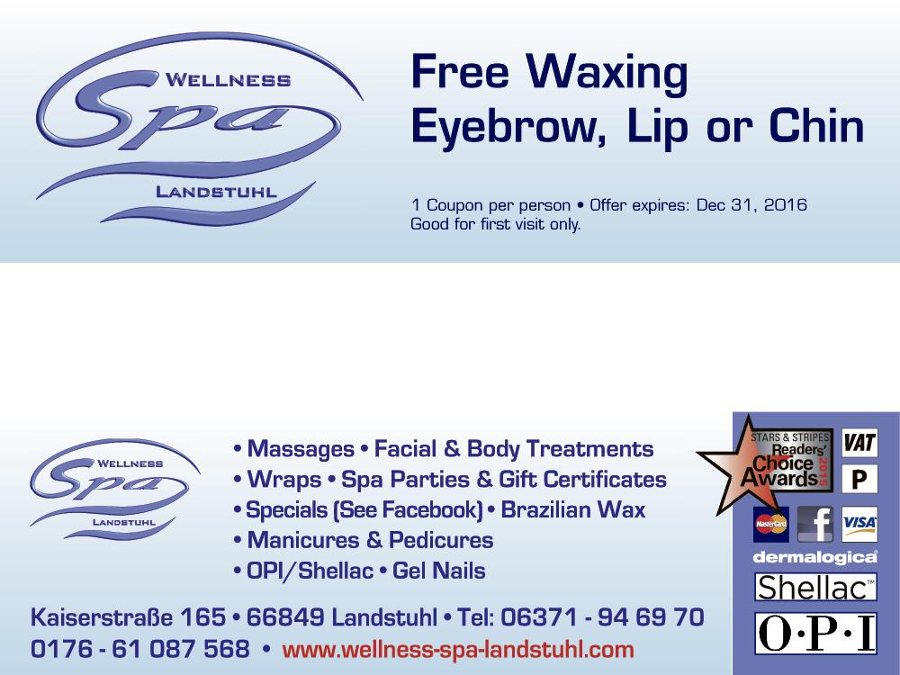 Eyebrow waxing coupons