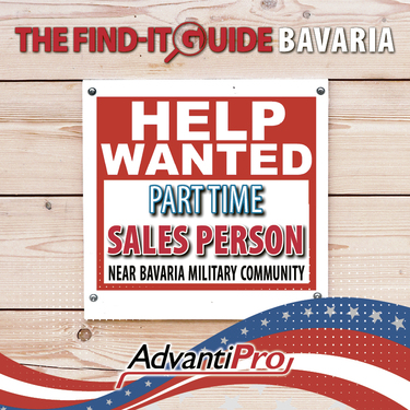 Part Time Sales Person Wanted