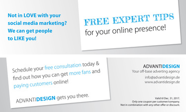 Free expert tips for your online presence
