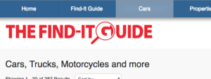 FindItGuide.com Launches Dedicated Car Channel